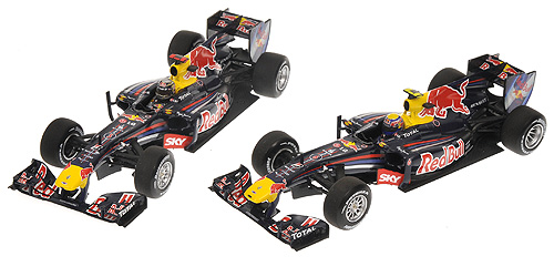 2 cars set Red Bull Racing RB6 constructors wc 2010