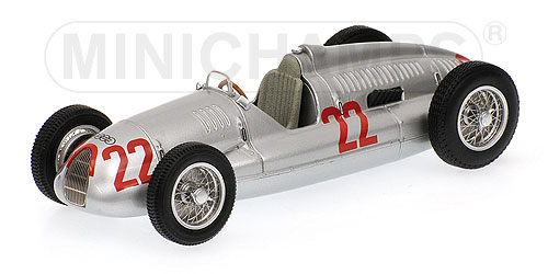 Auto Union type D.T.Nuvolari winner Italie GP 1938