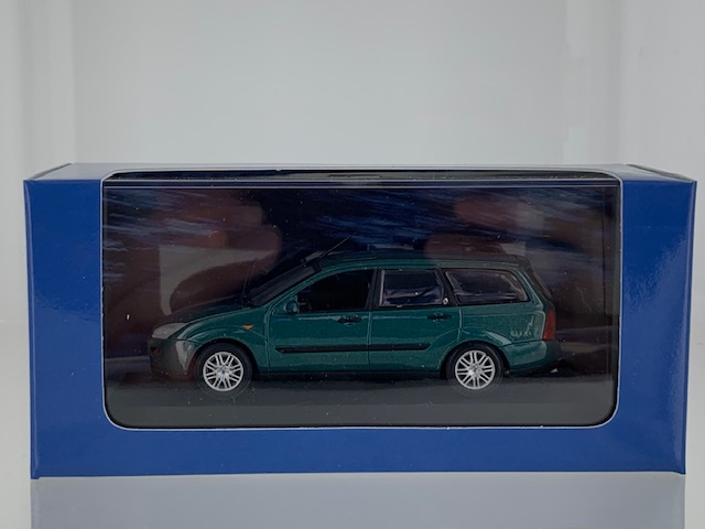 Ford Focus Turnier 1997 Groen Metallic