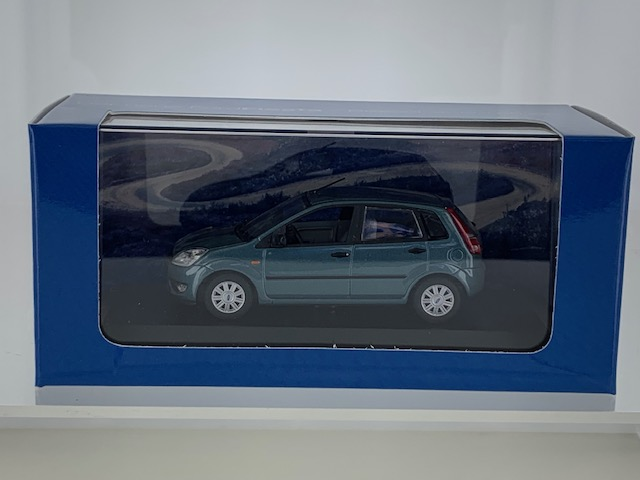 Ford Fiesta 2002 Groen Metallic
