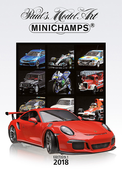 Catalogus Minichamps 2018 Deel 1