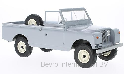 Land Rover 109 Pick-Up Series II 1959 Grijs/Zwart