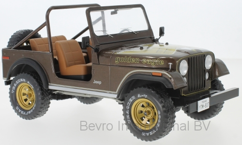 Jeep CJ-7 Golden Eagle 1980 Donkerbruin Metallic