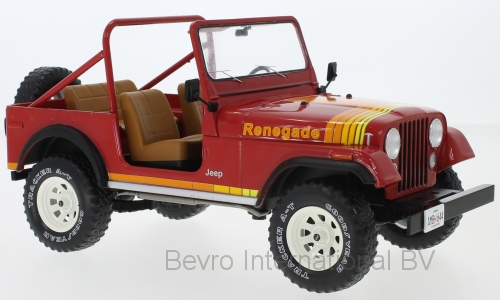 Jeep CJ-7 Laredo 1980 Rood