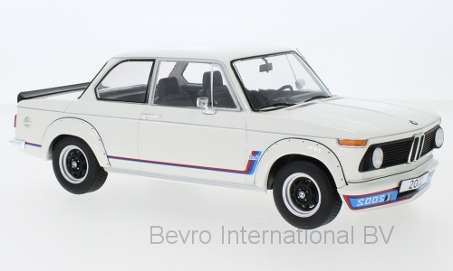 BMW 2002 Turbo 1973 White