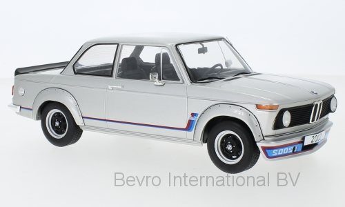 BMW 2002 Turbo 1973 Silver