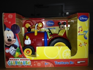 Mickey Mouse RC Tractor