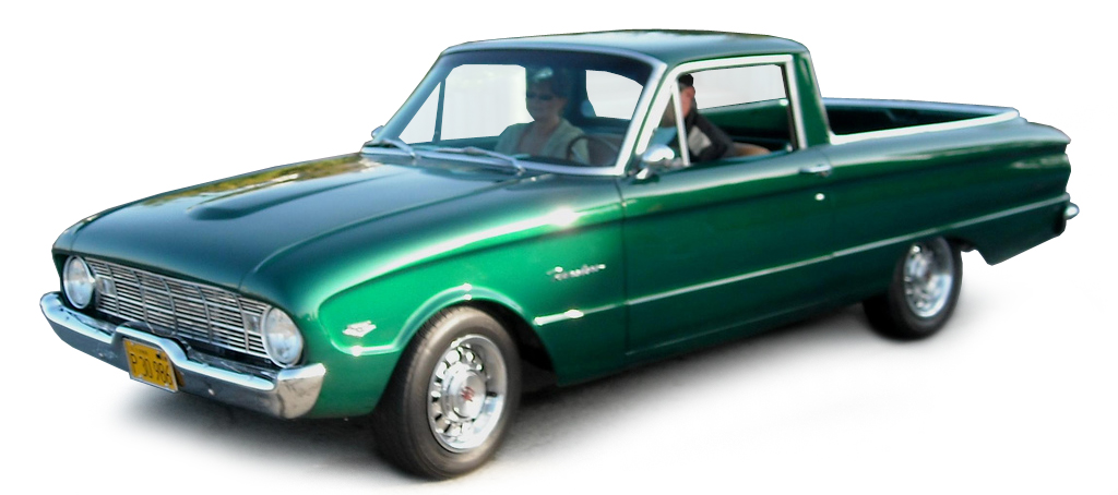 Ford Ranchero Pick-Up 1960 Groen