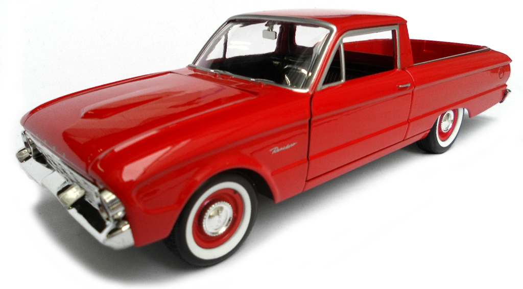 Ford Ranchero Pick-Up 1960 Rood