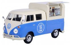 Volkswagen T1 Type 2 Food Truck Blauw/Wit