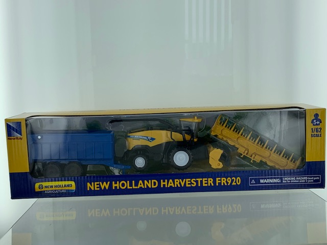 New Holland FR920 Hakselaar met Trailer - 1:62