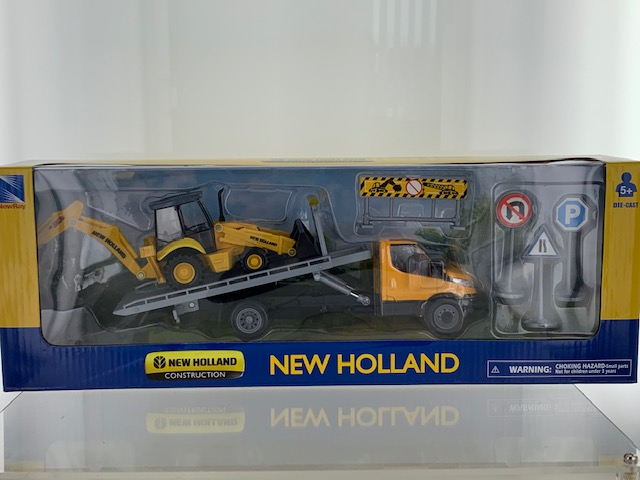 Iveco Daily + New Holland B110C - 1:43