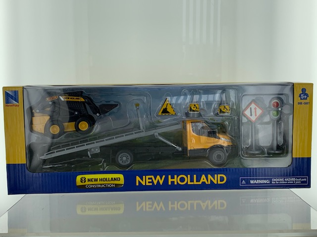 Iveco Daily + New Holland L230 - 1:43