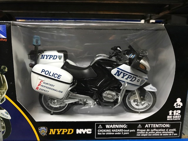 BMW R1200 RT-P NYPD - 1:12