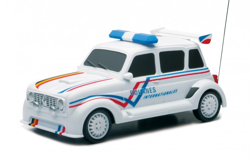 RC Renault 4L RAD Movie Car