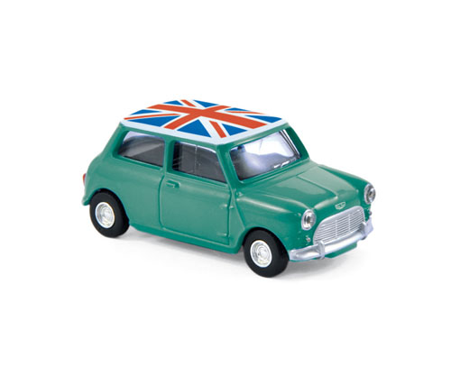 Mini Cooper S 1963 Groen/Wit