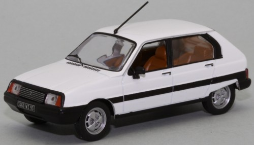 Citroen Visa II 1982 Wit - Limited 1000