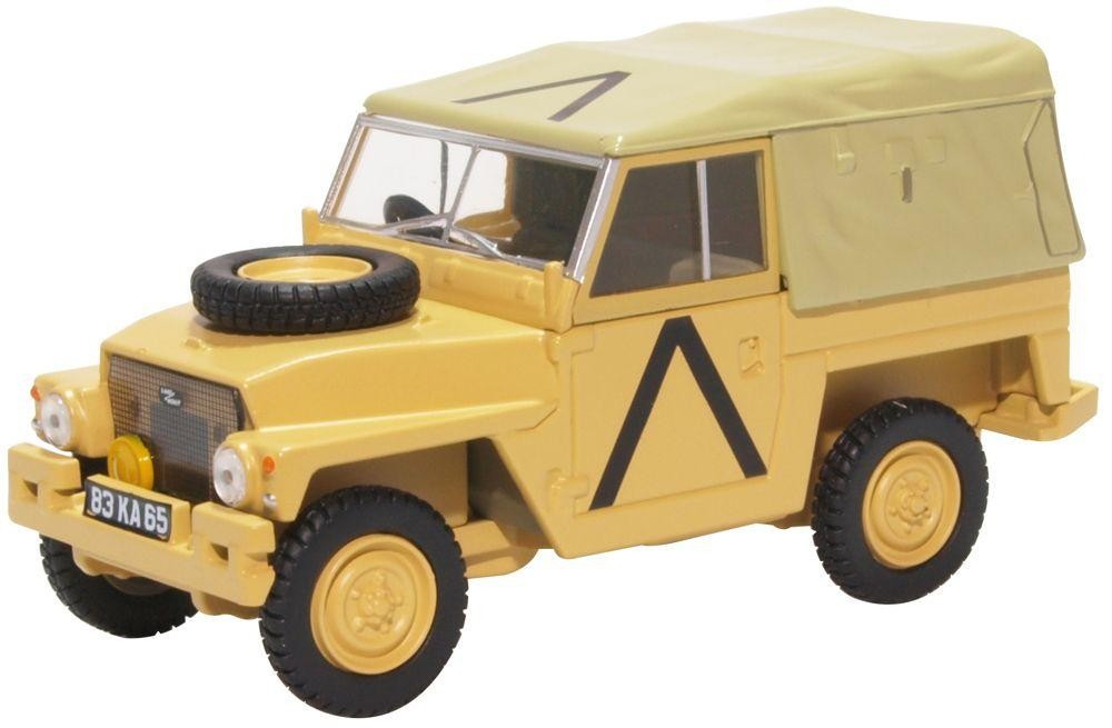 Land Rover Light Weight Gulf War - 1:43