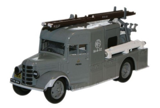 Bedford WLG National Fire Brigade Grijs - 1:76