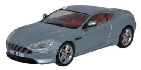 Aston Martin DB9 Coupe Grijs - 1:43