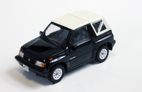 Suzuki Vitara Convertible with Softtop 1992 Black