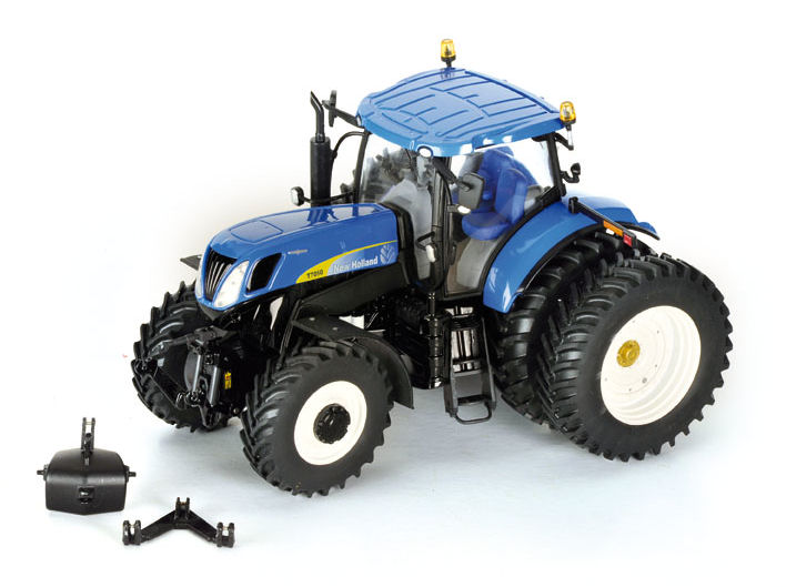 New Holland T7050 op Dubbellucht Limited USA