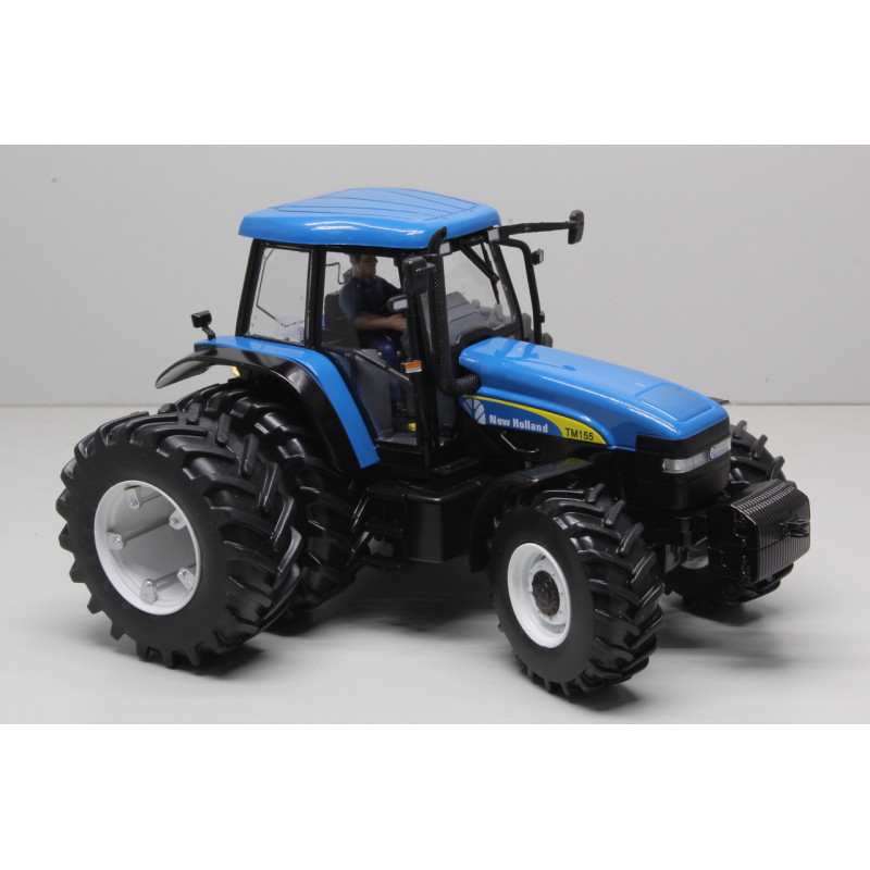 New Holland TM155 met Dubbellucht - Chartres 2019