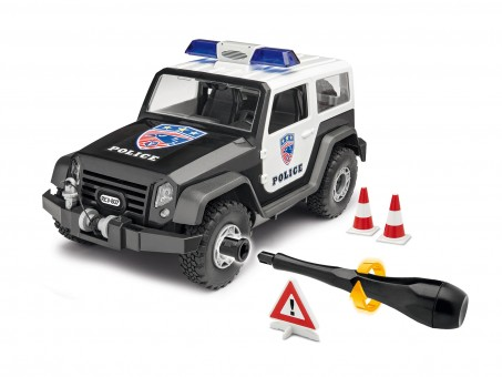 Offroad Vehicle Police