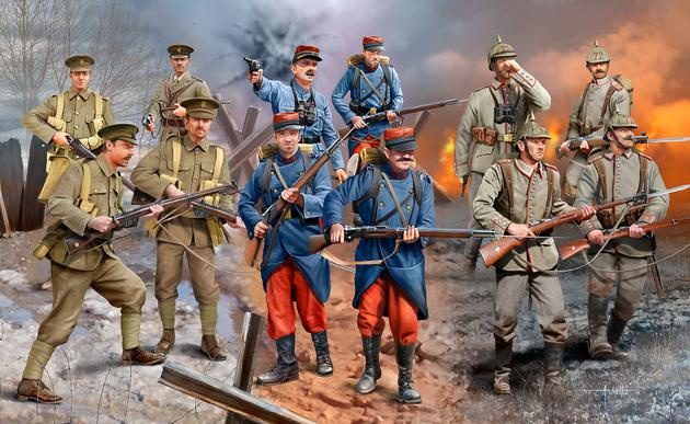 WWI Infantry German/British/French