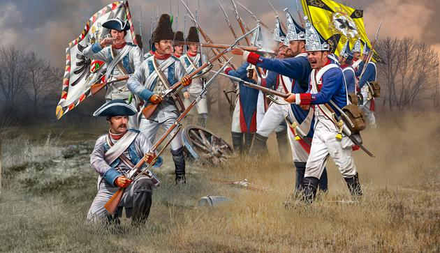 Seven Years War (Austrian  Prussian Infantry)