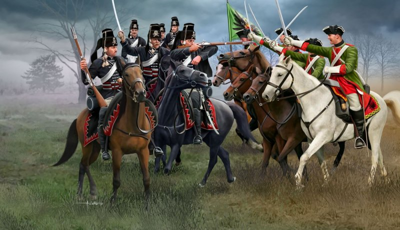 Seven Years War (Austrian Dragoons and Prussian Hussars)