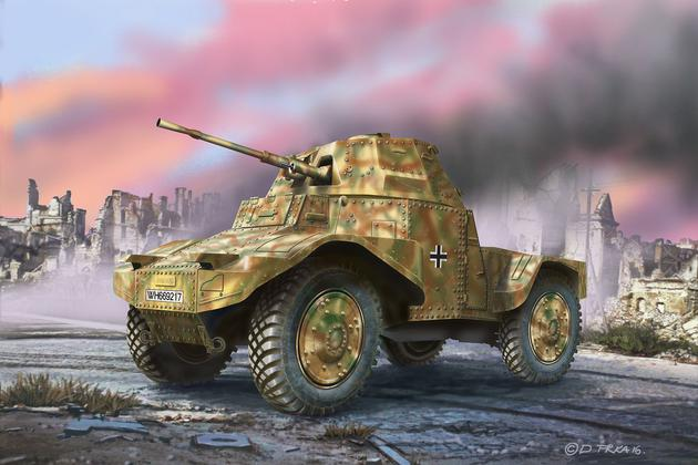 Armoured Scout Vehicle P204