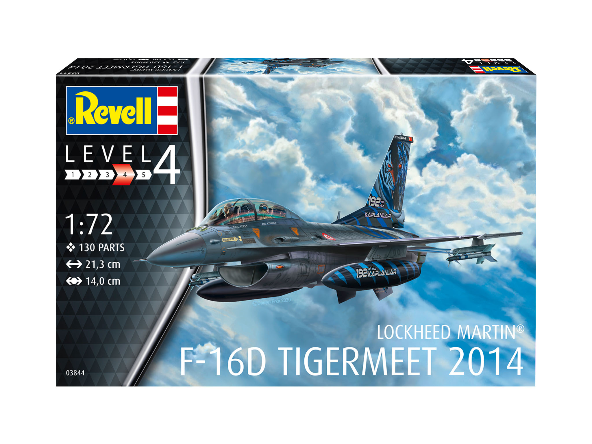 Modelset F-16D Fighting Falcon - 1:72