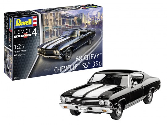 Model Set Chevrolet Chevelle SS 396 1968