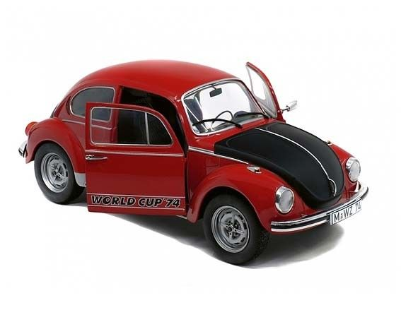 Volkswagen Kever 1303 World Cup 1974 Rood - 1:18