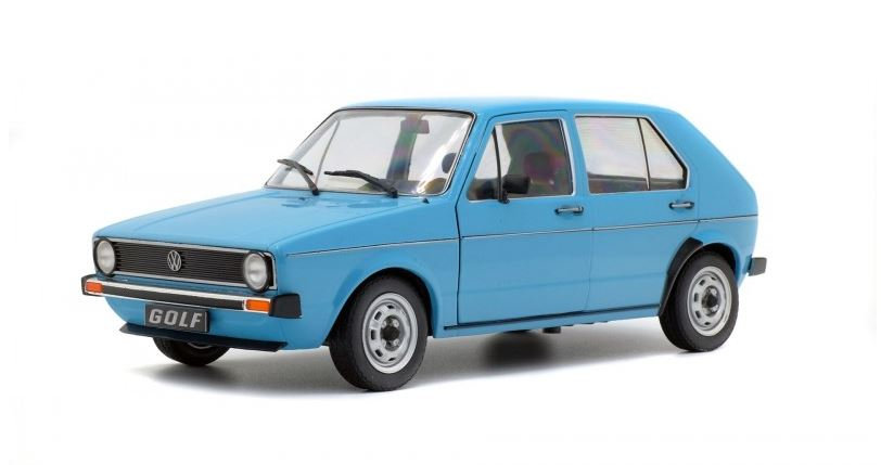 Volkswagen Golf L 1983 Blue - 1:18