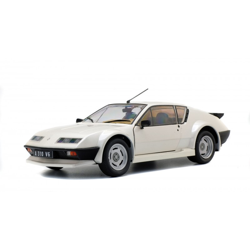 Alpine A310 Pack GT 1983 Wit - 1:18