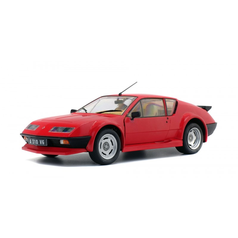 Alpine A310 Pack GT 1983 Rood - 1:18