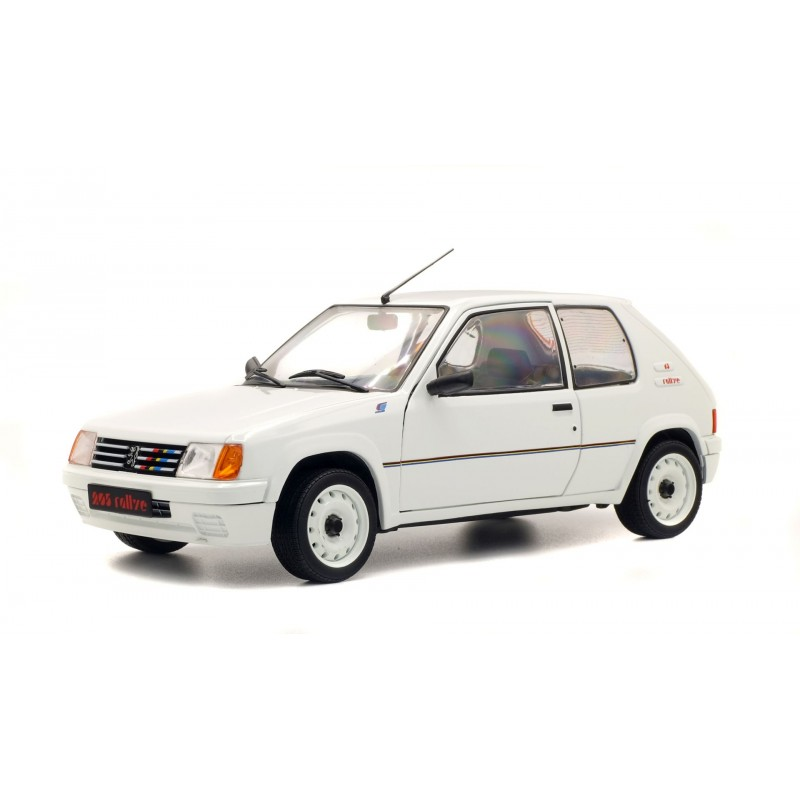 Peugeot 205 Rally Wit - 1:18