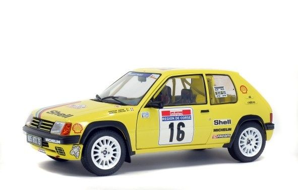 Peugeot 205 Rally Tour de Corse 1990 Doenlen/Merciol - 1:18