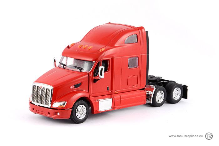99d400c479 Peterbilt 587 Sleeper Cab 6x4 Red