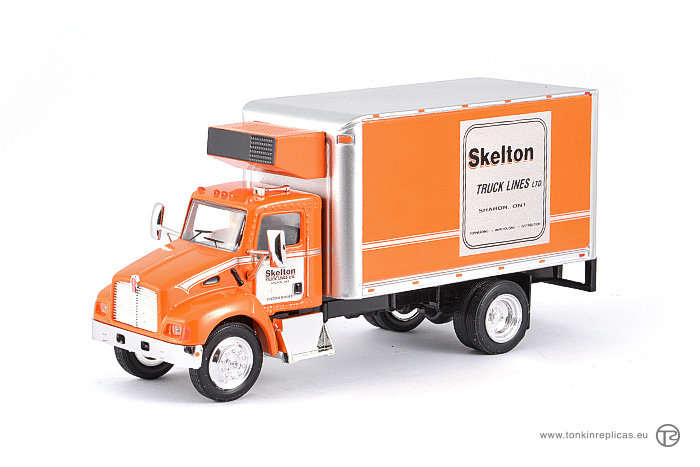 Peterbilt T300 Box Van 4x2 Skelton