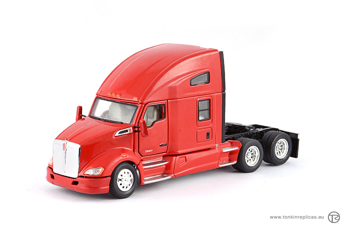 Peterbilt T680 Sleeper Cab 6x4 Red