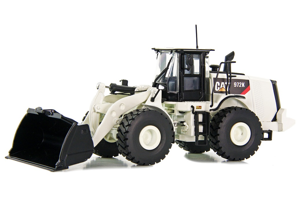 CAT Wheel Loader 972K White Edition 1:50
