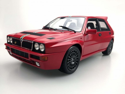 Lancia Delta Integrale Evolution Final Edition 1995 Red - 1:12