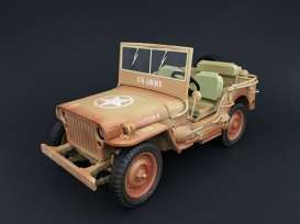 Jeep Willys 1943 Casablanca Dessert Sand