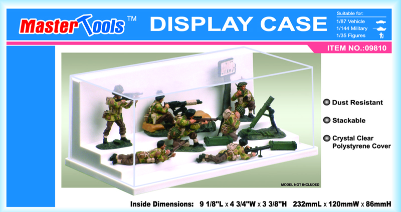Display Case - 232x120x86mm
