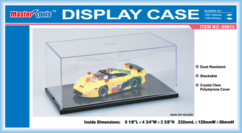 Display Case - 120x232x86mm