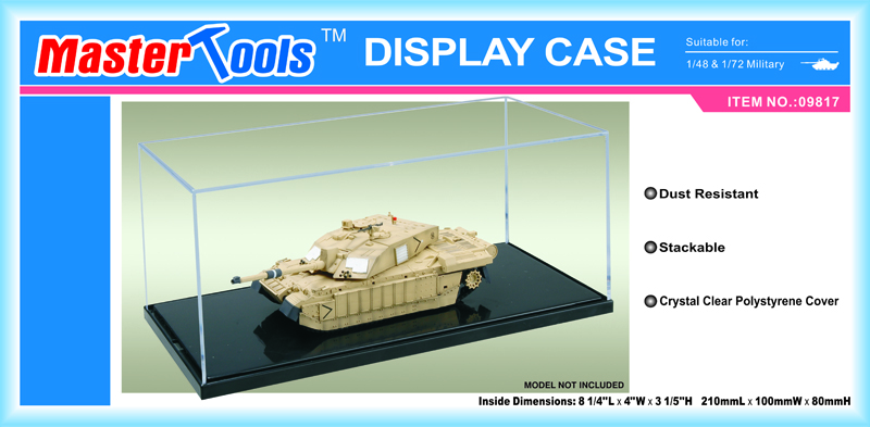 Display Case - 210x100x80mm