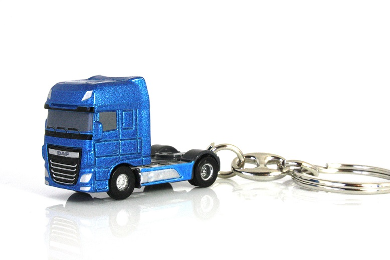 DAF New XF Euro6 Blue Metallic Keyring